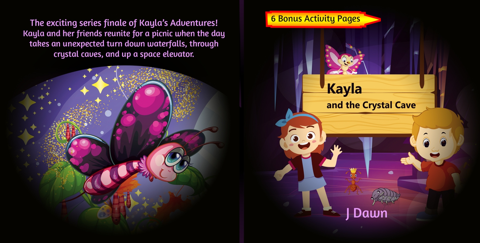 Kayla's Adventures Crystal Cave Cover